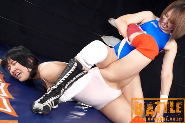 女子プロレス キャットファイト チェリー羽生 七谷あいな エロボディ