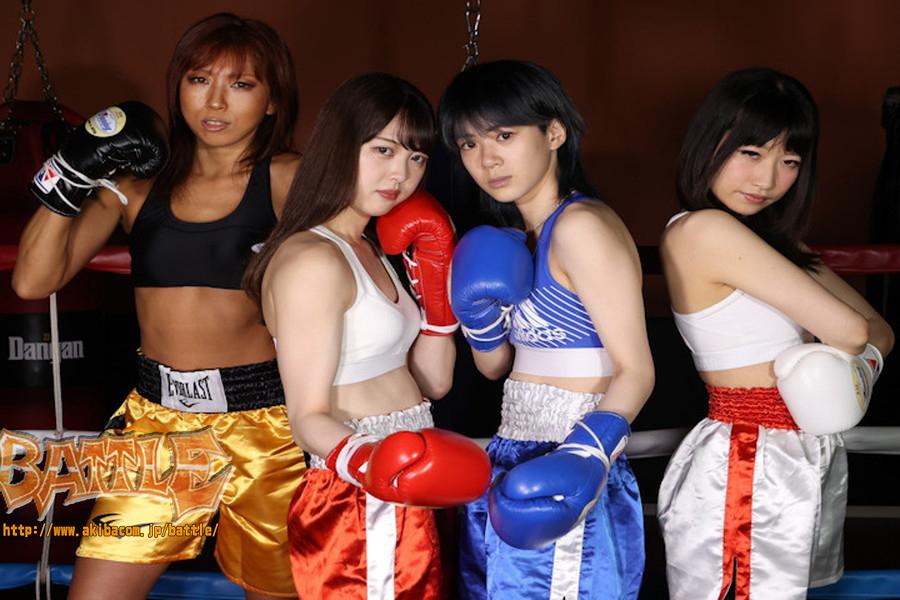 女子ボクシング 幸村茜里  灯月いつか 美乳